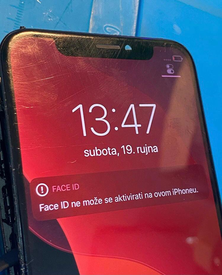 face id problem